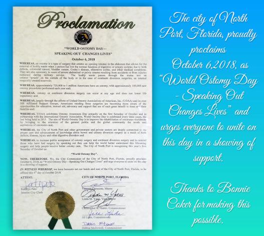 World Ostomy Day Proclamation